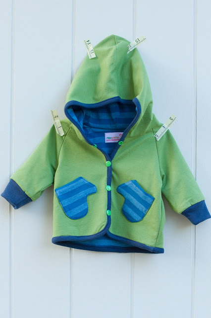 Sewing for baby: hoodie + superman. • Make It Perfect