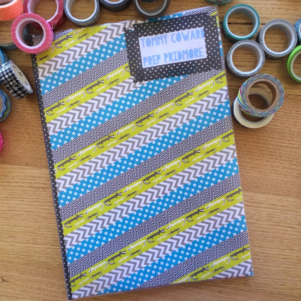 How To Make A Book Cover Without Tape ~ Diy archives make it perfect