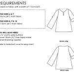 Big Mini Shearwater Kaftan requirements