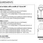 Little Hero Vest requirements
