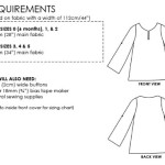 Little Mini Shearwater Kaftan requirements