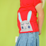 Sleepy Bunny Applique