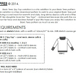 Little Basic Tees Spy Top requirements